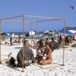 T029-Sandra-and-Laura, Barra Beach, Brazil, 2002